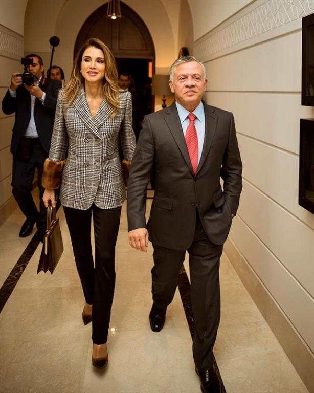 الملكة-رانيا-وجلالة-الملك