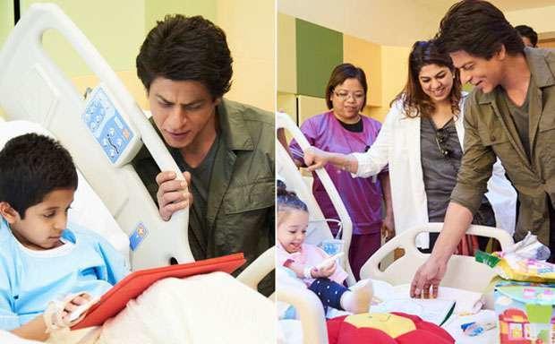 النجم-الهندي-في-مستشفى-سرطان-الاطفال