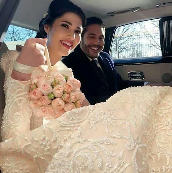زفاف التونسية مرام بن عزيزة