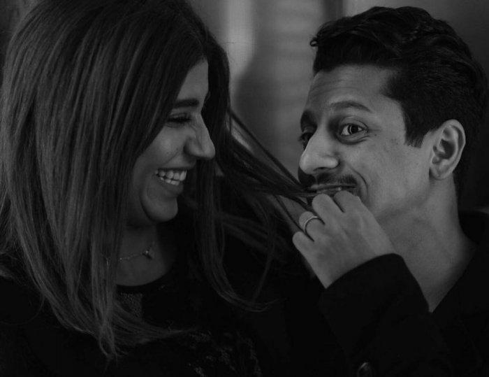 ليلى عبد الله وزوجها