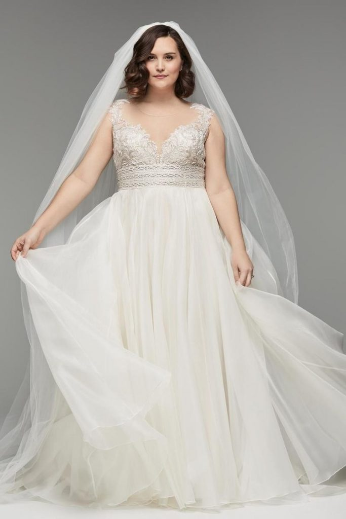 فساتين-زفاف-منفوشة