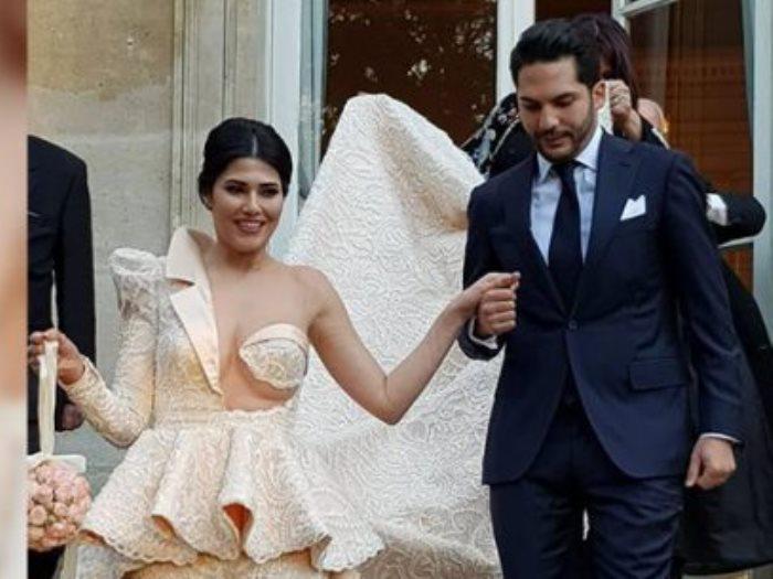 فستان زفاف بن عزيزة
