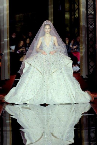 فستان-زفاف-طبقات-بالكريستال