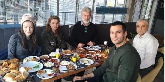 لقاء أوزجي مع عائلة سيركان
