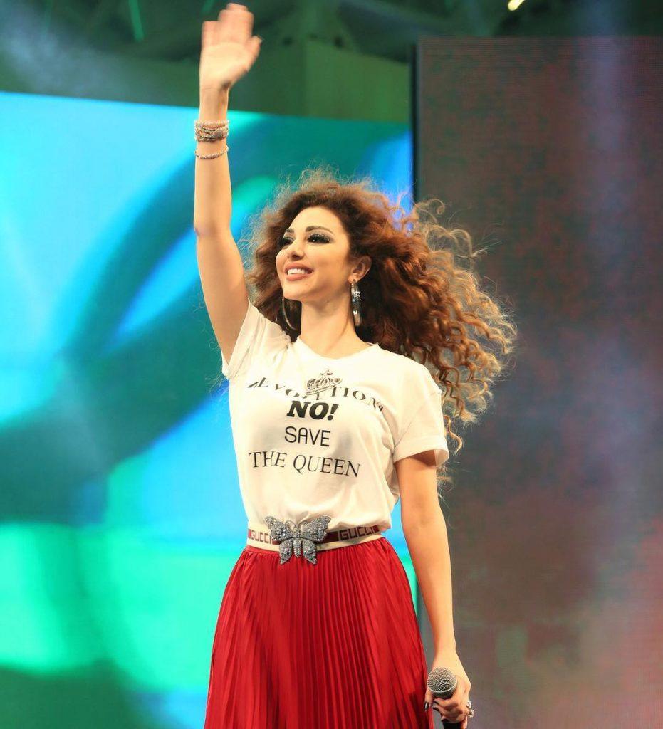 مريام-تحيي-الجمهور