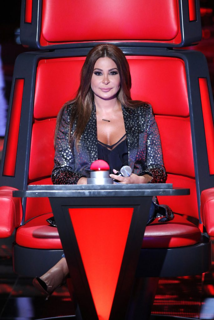 (5) MBC1 & MBC MASR The Voice S4 - Elissa