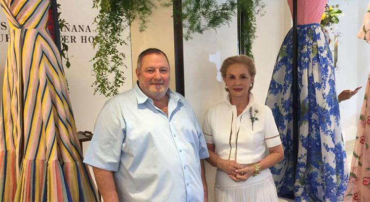 عدنان الكاتب يلتقي كارولينا هيريرا