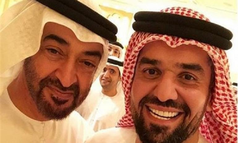 حسين الجسميوولي عهد ابو ظبي