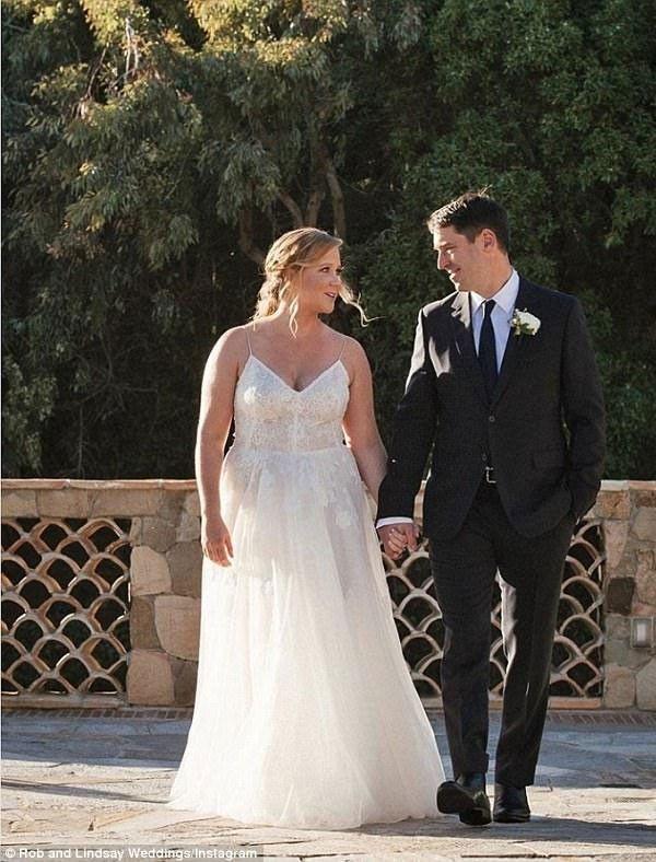 زفاف ايمي شومر
