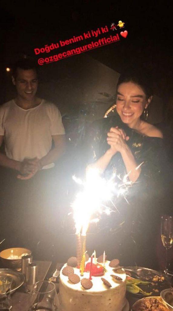 سيركان شاي اوغلو يحتفل بعيد ميلاد حبيبته 5