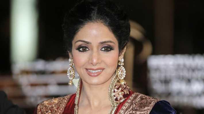 وفاة الممثلة الهندية سيريديفى كابور