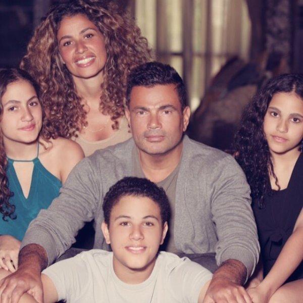 عائلة-عمرو-دياب