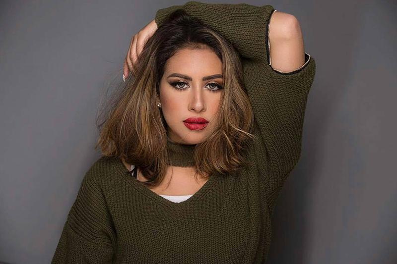 الممثلة الكويتية فرح الهادي