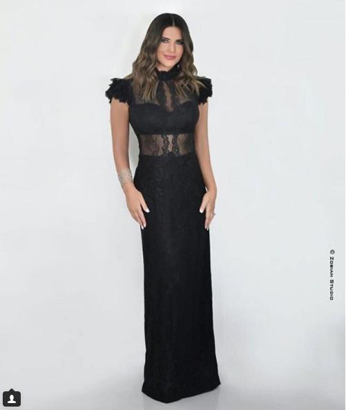 فستان-أسود-طويل