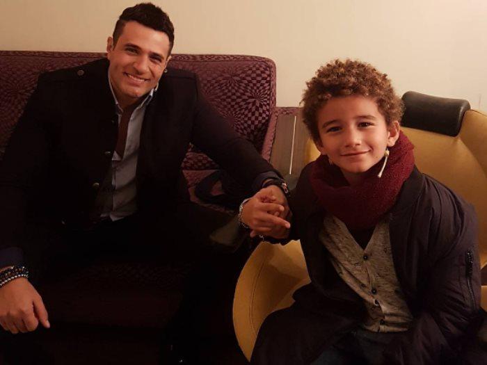 محمد-مع-ابنه