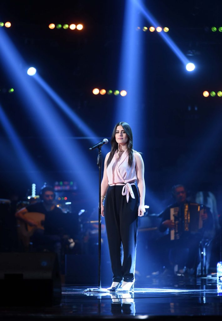 MBC1 & MBC MASR The Voice S4 - Blind 2 - Elissa's team- Jianna Ghantous (1)