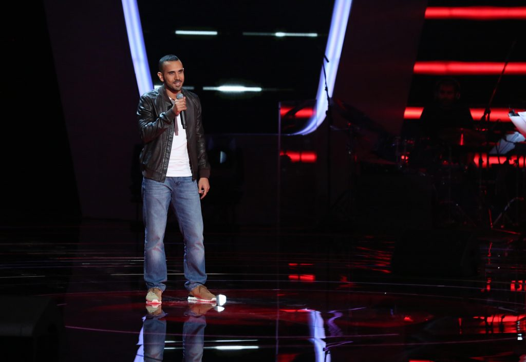 MBC1 & MBC MASR The Voice S4 - Blind 2 - Elissa's team- Rabih Hajjar (1)