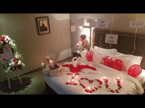 افكار رومانسية لتزيين غرف نوم في ذكرى الزواج7