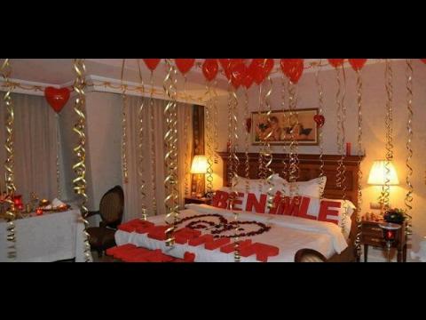 افكار رومانسية لتزيين غرف نوم في ذكرى الزواج8