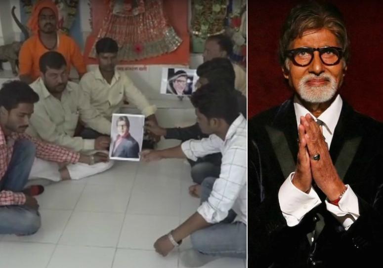 الجمهور-يصلى-لأسطورة-الهند