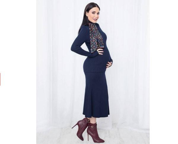 سيرين-في-اخر-شهور-الحمل