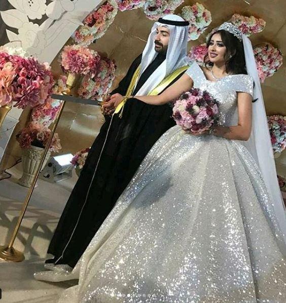 فرح-في-زفافها-على-عقيل-الرئيس