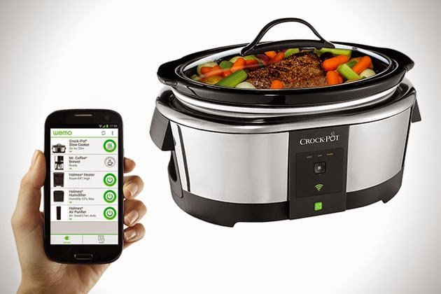 Belkin Crock-Pot WeMo Slow Cooker_جهاز