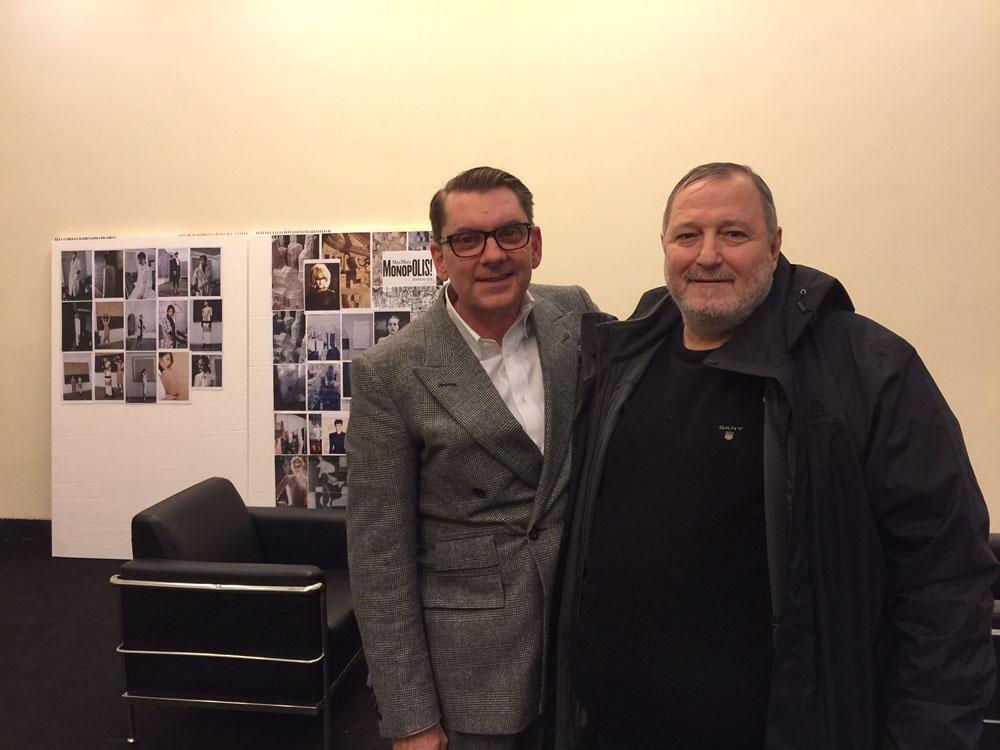 إيان غريفيث مع عدنان الكاتب