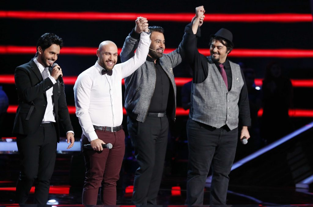 MBC1 & MBC MASR The Voice S4- Battles 1- Assi's team- Youssef Sultan vs Abboud Agop (2)