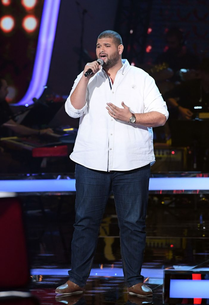 MBC1 & MBC MASR The Voice S4- Battles 1- Elissa's team- Winner Khaled Helmy