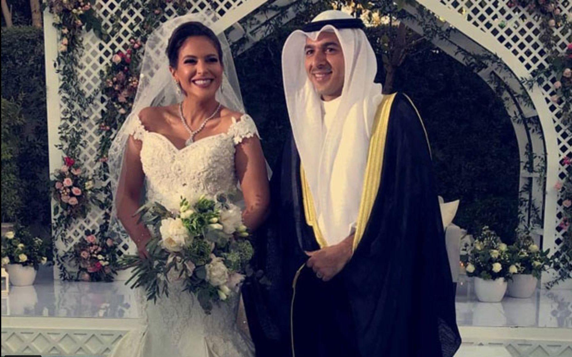 بيبي عبد المحسن تحتفل بزواجها 0