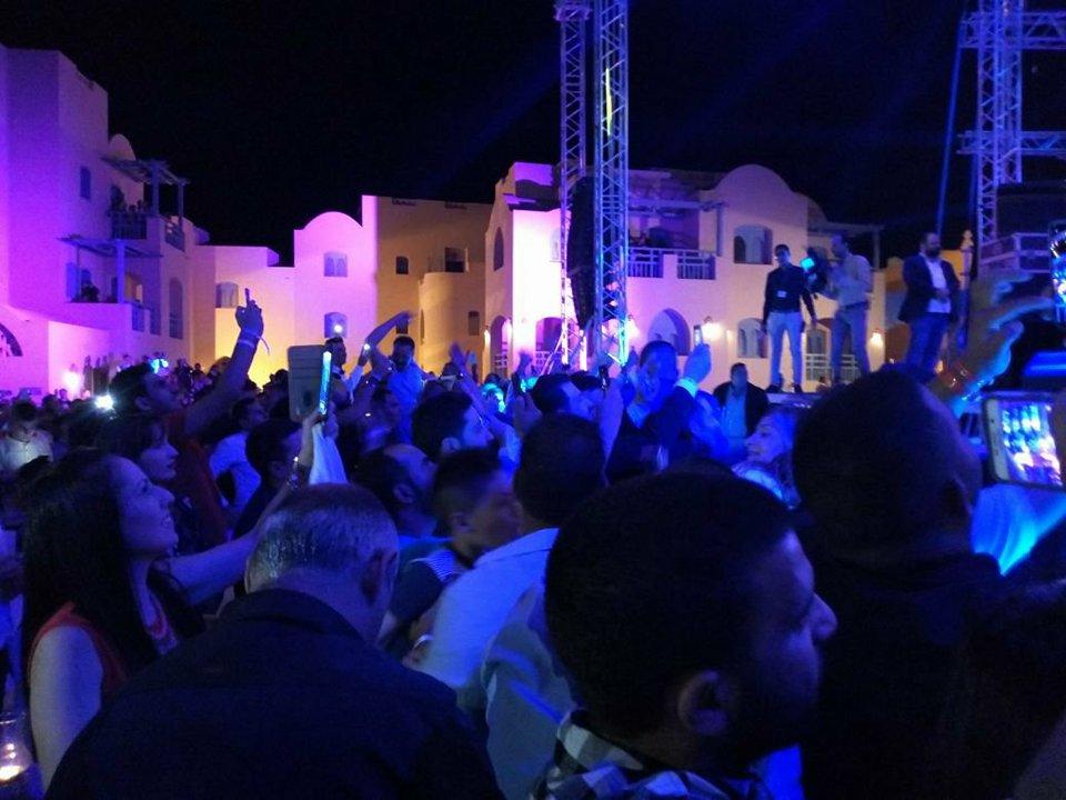 حضور مهرجان طابا