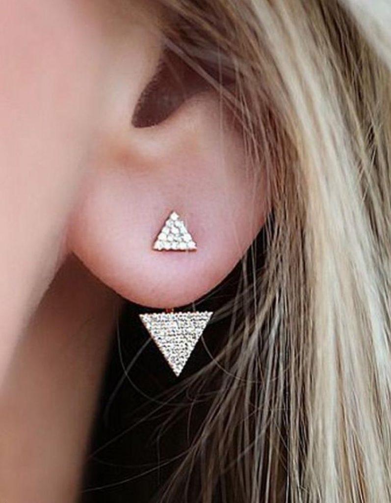 حلق-على-شكل-مثلث