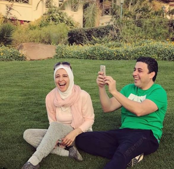 صور حنان ترك مع عائلتها في اجازة الربيع - مشاهير