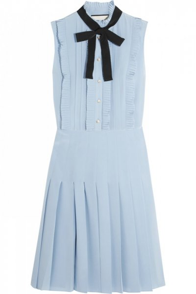 فستان-ازرق-هادئ-من-gucci