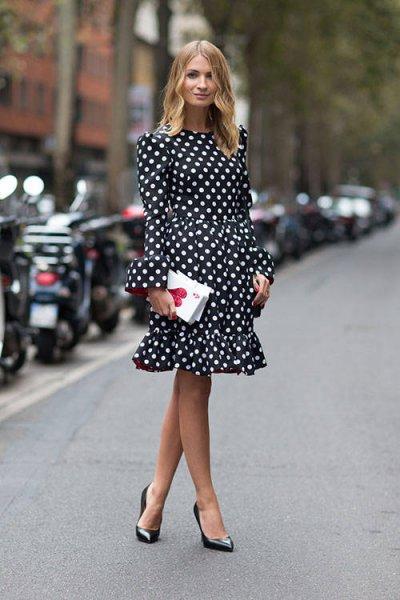 فستان-منقط