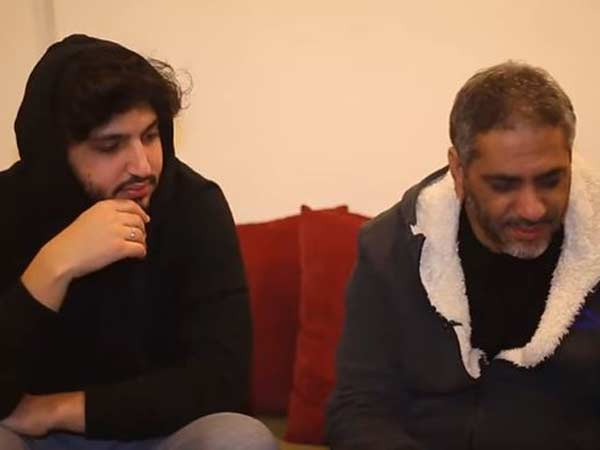 فضل مع ابنه محمد شاكر