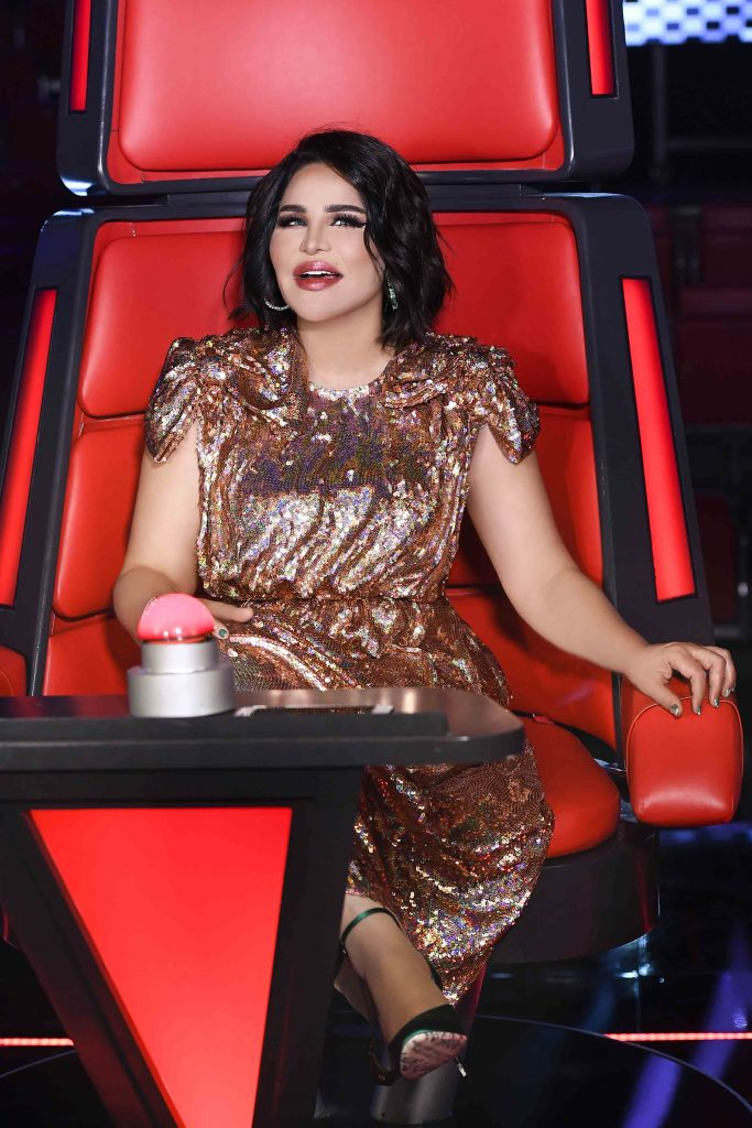 MBC1 & MBC MASR The Voice S4- Live 1- Ahlam