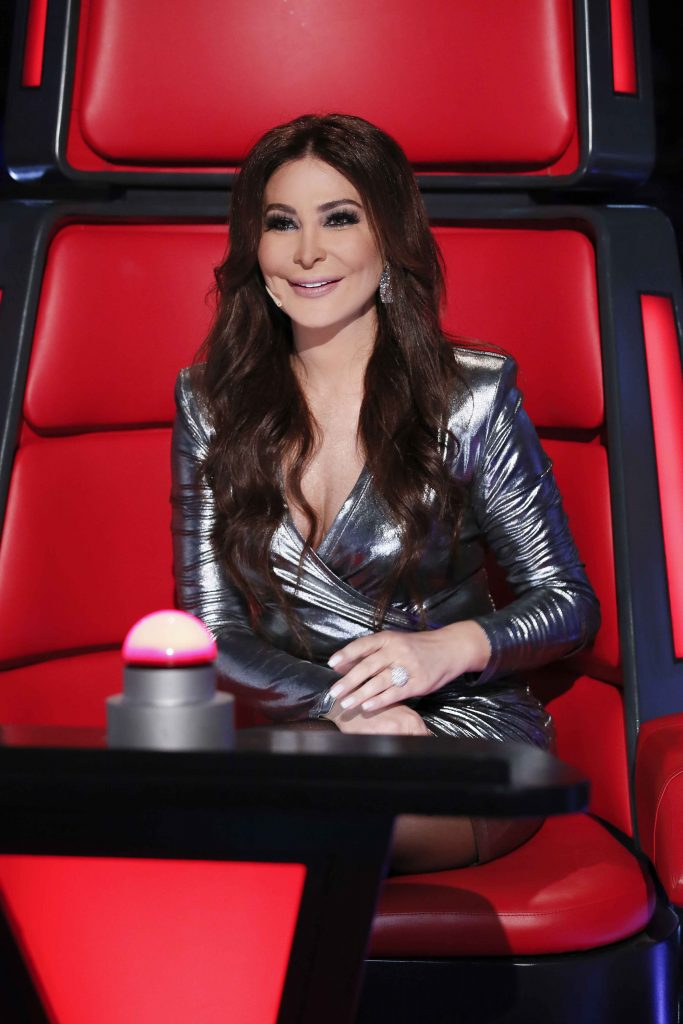 MBC1 & MBC MASR The Voice S4- Live 1- Elissa