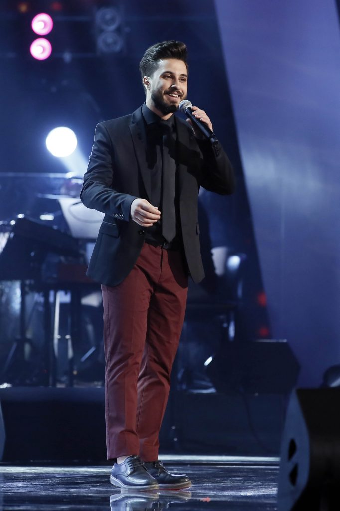 MBC1 & MBC MASR The Voice S4- Live 1- Elissa's team- Winner Ahmad Al Hallak