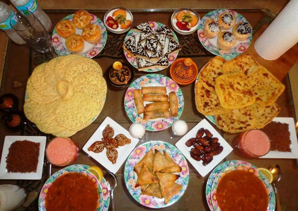 قائمة أفكار إفطار أول يوم رمضان 2018