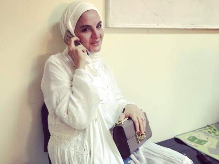 ارتداء - المطربة- شيماء- سعيد-الحجاب