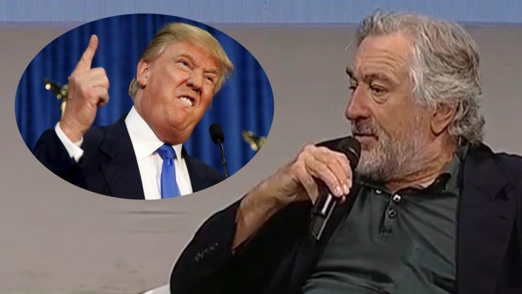 روبرت دي نيرو يمنع دونالد ترامب من دخول مطاعمه