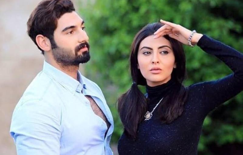 مريم حسين وزوجها فيصل