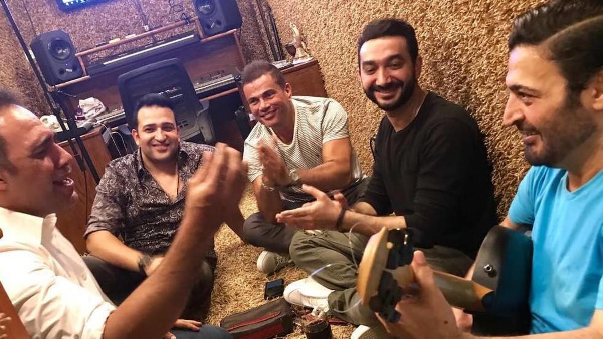 التعاون الجديد بين عمرو دياب وحميد