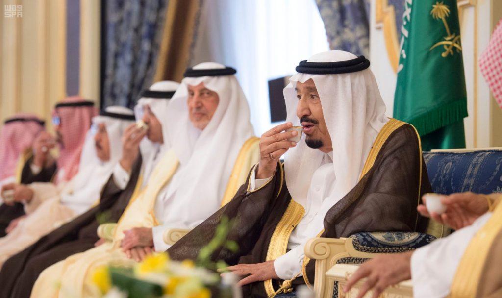 الملك سلمان في سحور أول أيام رمضان