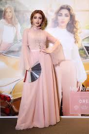 إطلالة-ميريام-فارس-بفستان- زهري