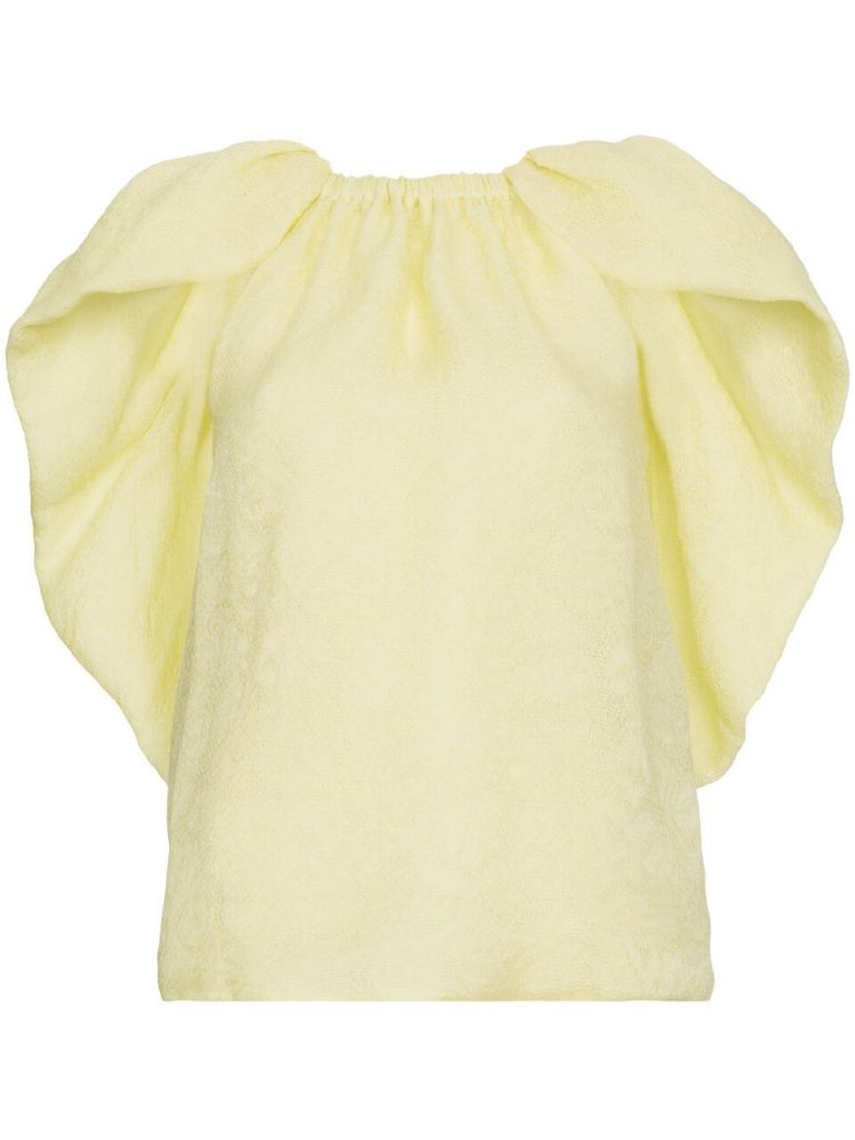 Cape-Silk-Jacquard-Top