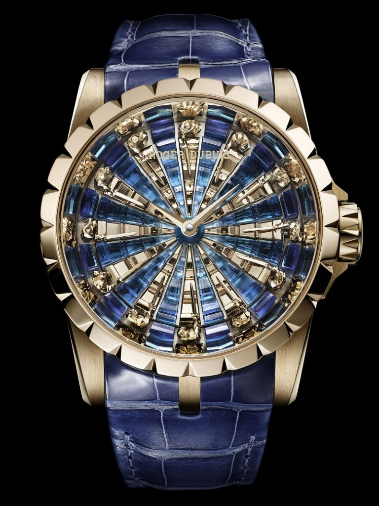 e623a003e احدث أشكال ساعات من دار روجيه دوبوي - ROGER DUBUIS - مشاهير