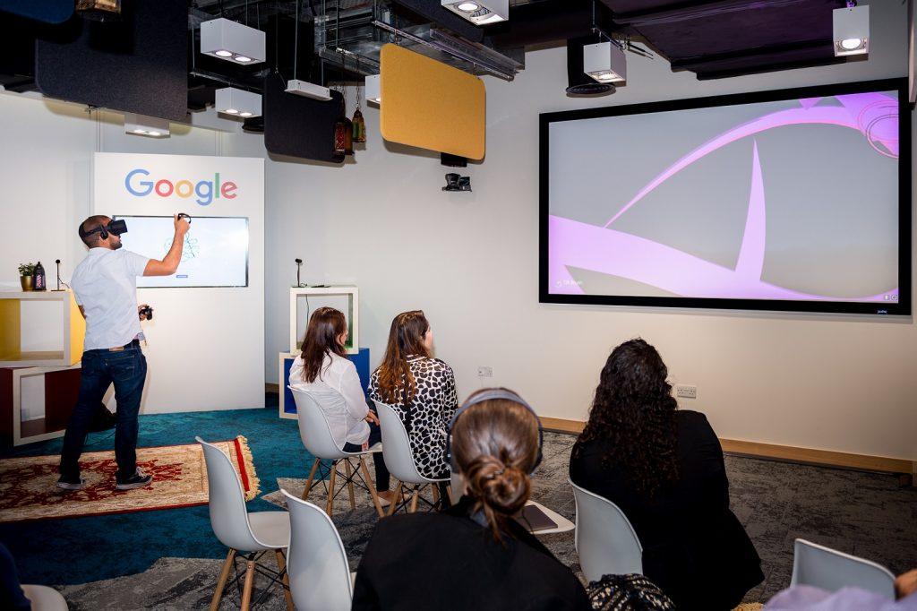 Google VR Qalam Demonstation
